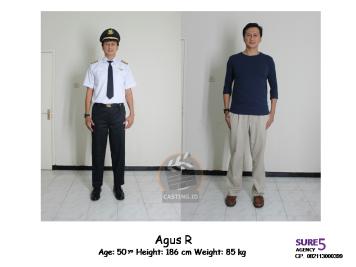 Agus R 56 yo   186 cm   85 kg