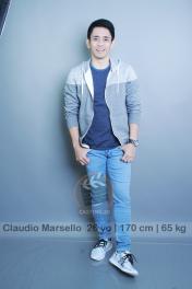 model talent Claudio Marcelo