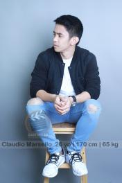 model talent Claudio Marsello