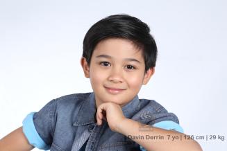 model talent Davin Derrin