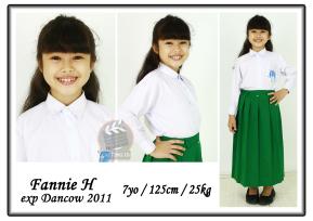 Fannie Hasan 7 yo | 125 cm | 25 kg