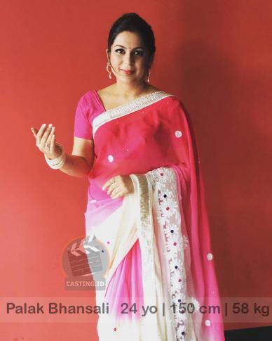 talent cewek India Palak Bhansali