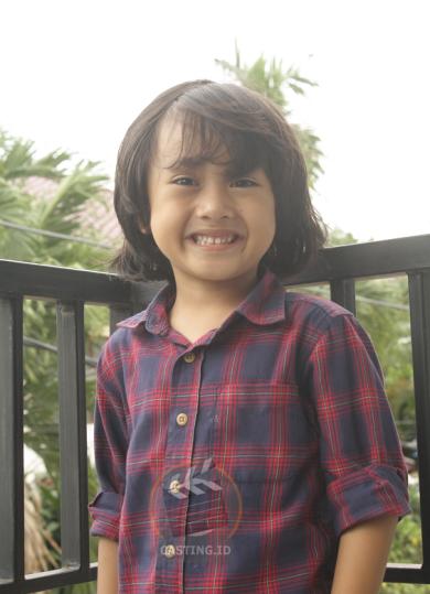 Nama : Savero Usia : 5 tahun Domisili : Jakarta