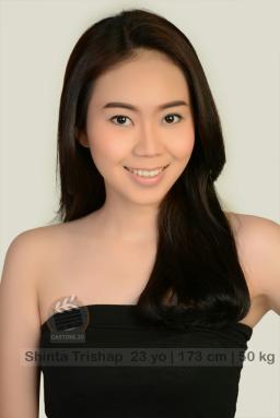 model talent Shinta Trishap