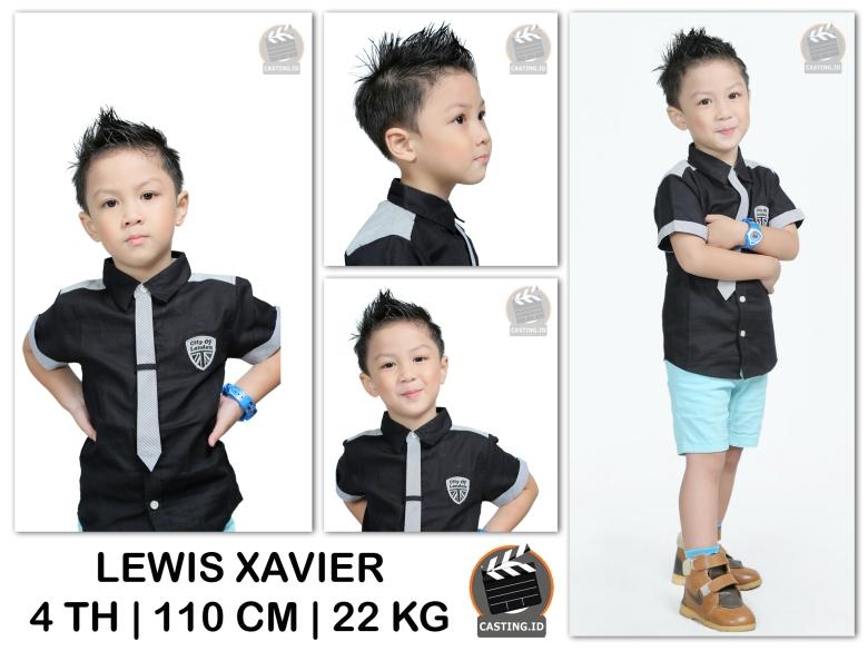 model talent Lewis Xavier
